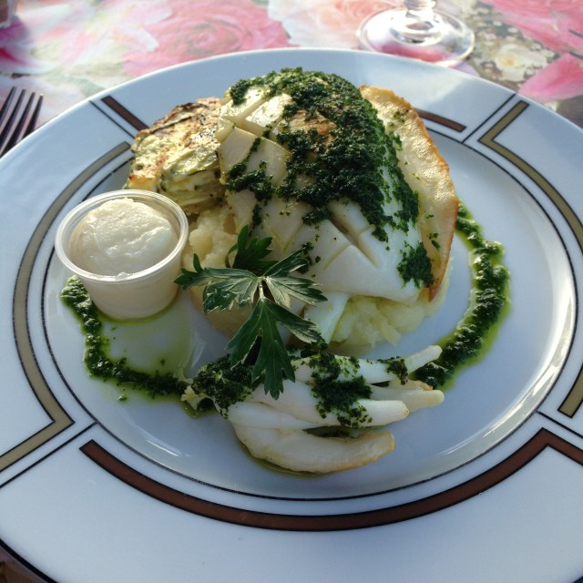 L'Aiguille Seiche. Cuttlefish. My main plat at L'Aiguille. Best. Seafood Meal I've EVER had!