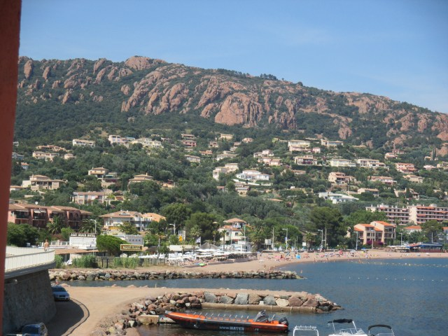L'Esterel Looking at Theoule from the way to St. Trop