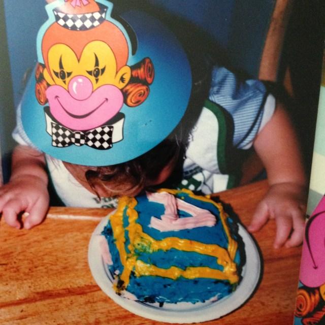 Like Marie Antoinette, I let them eat cake...
