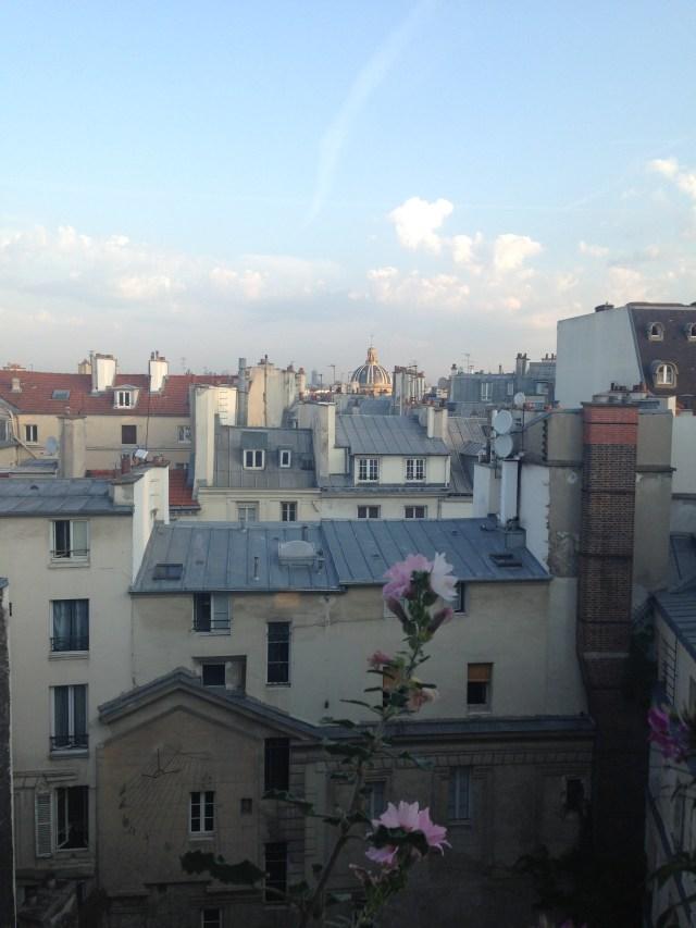 Paris. Daniele's Apt. Last View I'll have till next year!