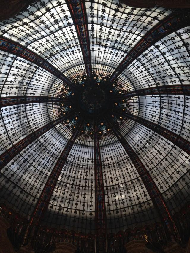 Paris. Galeries Lafayette. Ceiling Dome 2
