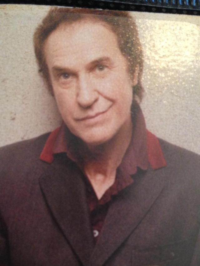 Ray Davis of the Kinks. Still looking cute as ever!