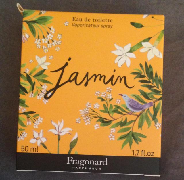 Shopping. Fragonard. Jasmin Eau de Toilette.