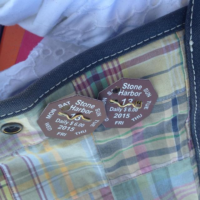 Beach badges