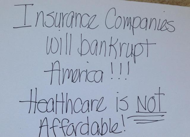 insurance company poster