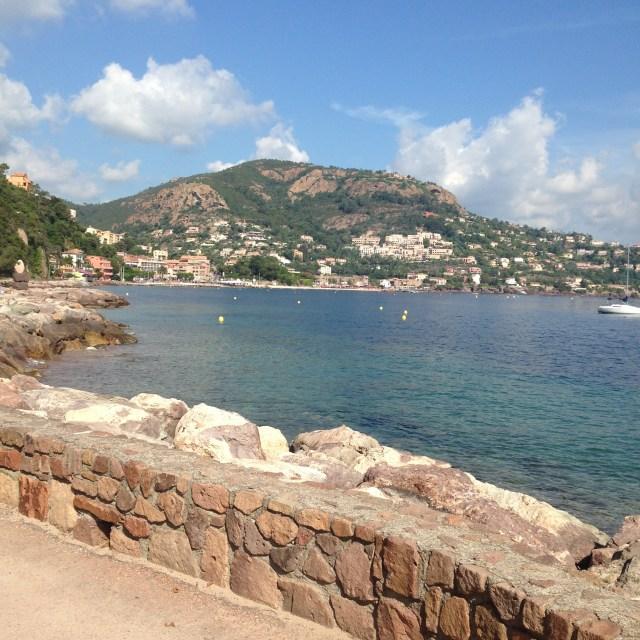 L'Aiguille. View of Mandelieu