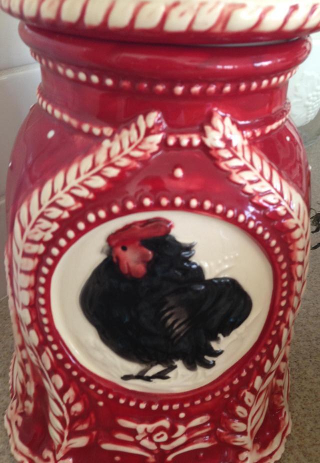 Rooster jar