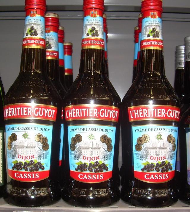 Theoule. Geant. My favorite Creme de Cassis