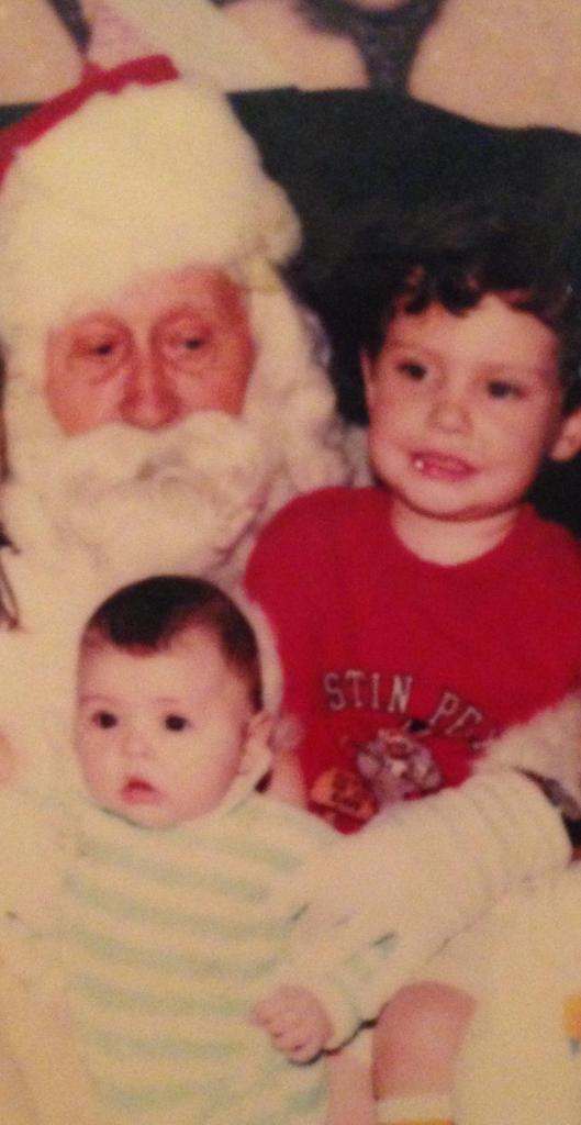 Christmas 1986. Florida