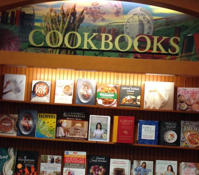 Books. Cookbooks