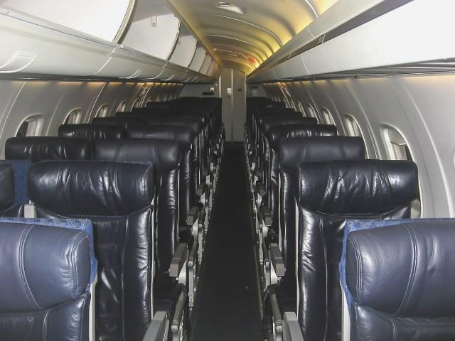 American Eagle interior