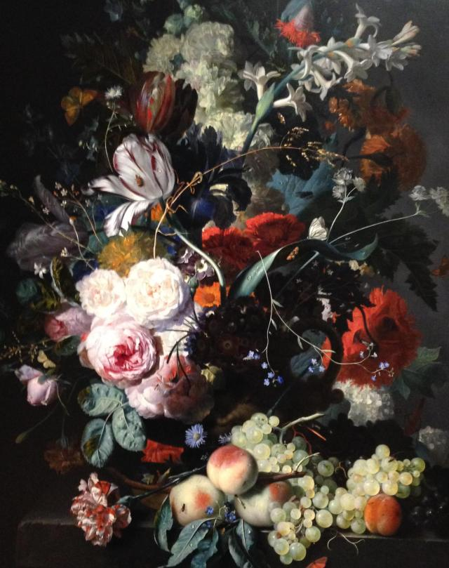Flemish floral painting