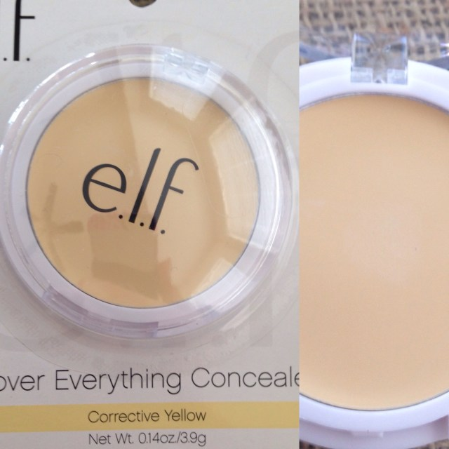 e.l.f. cover everything concealer in yellow