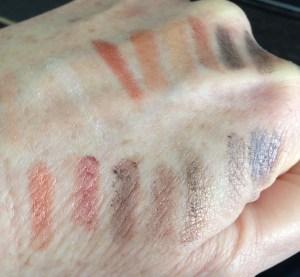 Makeup on hand