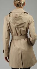 Michael Kors hooded trench