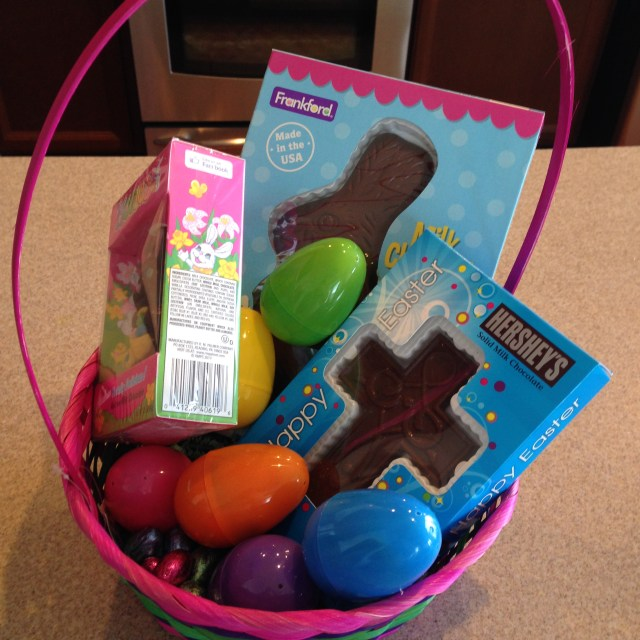 The easter basket