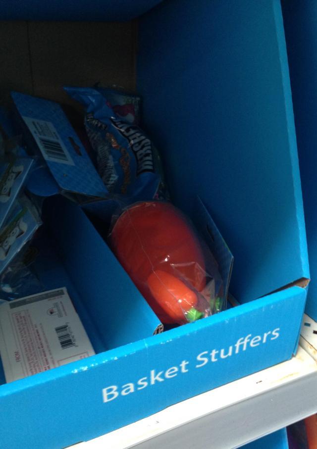 Walmart basket stuffers all gone