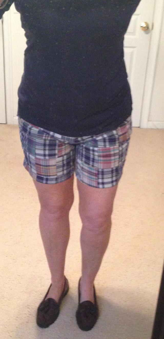 Madras shorts lets get preppy