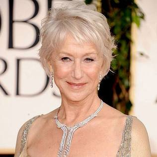 Short-Bob-Hairstyle-for-women-over-60 Helen Mirren