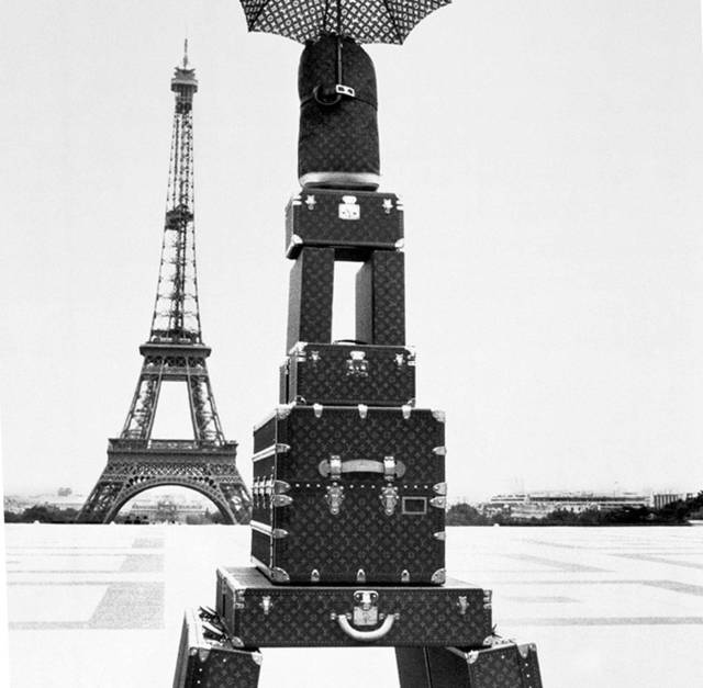 Louis Vuitton ad by Jacques Henri Lartigue