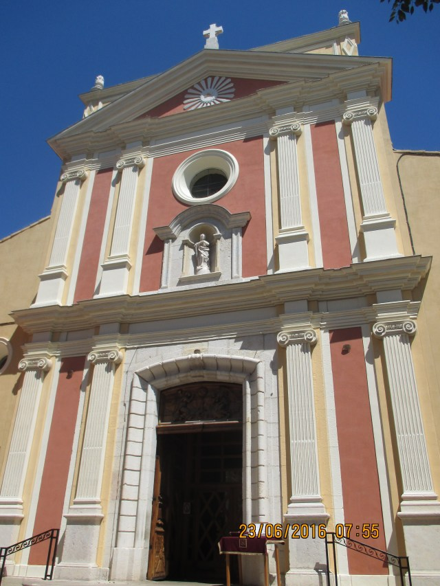 Antibes. Church