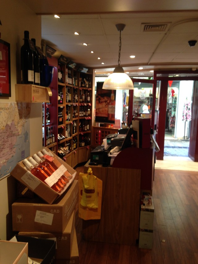 Cannes. NIcolas. The greatest store for wine ever.