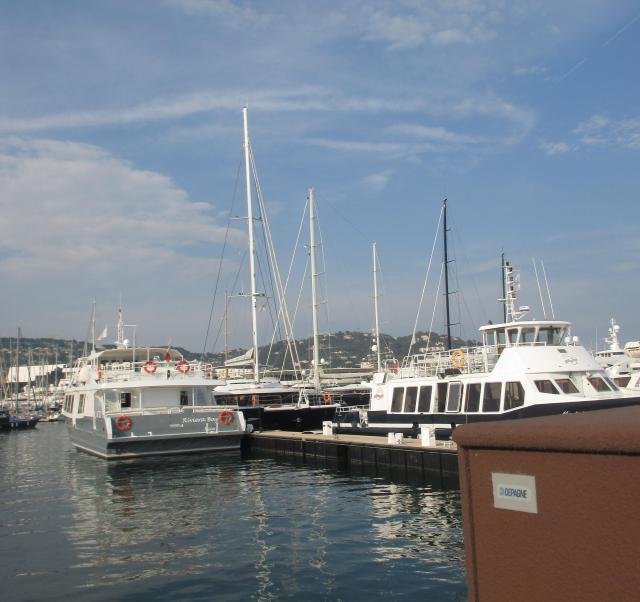 Cannes. Port du Cannes 2016. July 1