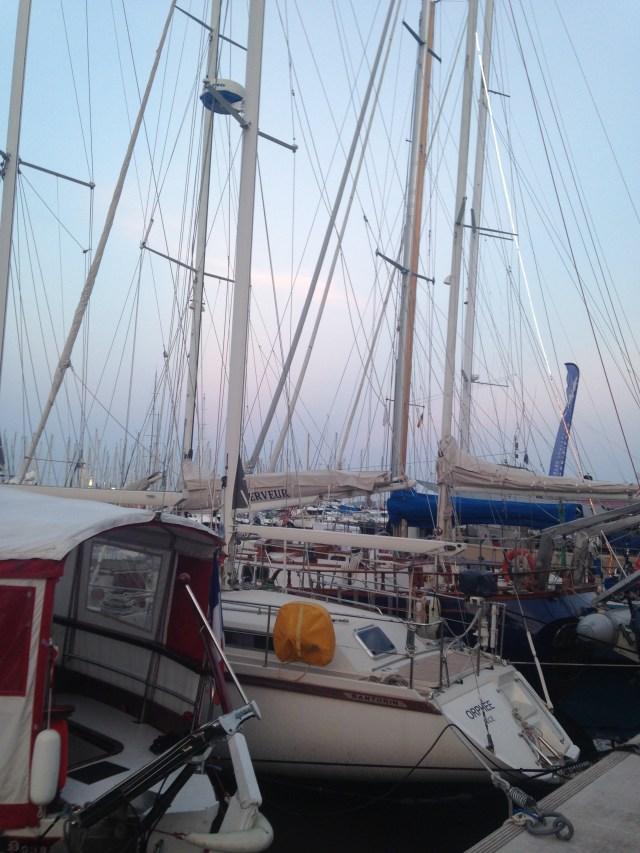 Cannes. Port du Cannes. Boats
