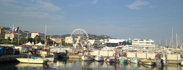 Cannes. Port du Cannes. Ferris Bueller Wheel.