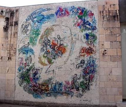 chagall musee interior