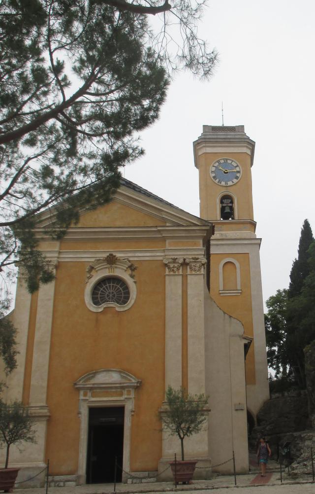 Eze. Exterior of Eglise Notre Dame de l'Assomption