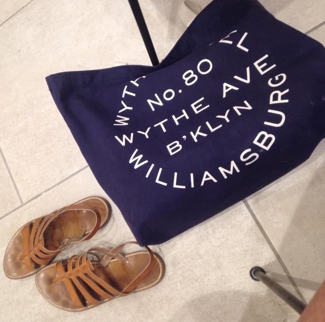 Shopping St. Tropez. Rondinis and wythe hotel tote