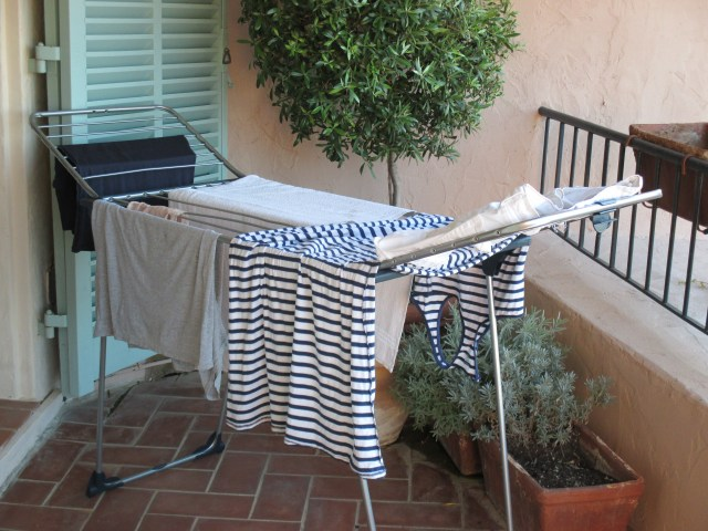 Theoule. Laundry on the terrace makes me happy!