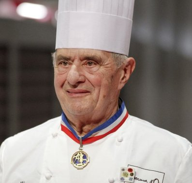 French chef Paul Bocuse is seen during the 2011 Bocuse d'Or cooking contest ceremony in Chassieu, near Lyon, January 26, 2011.   REUTERS/Robert Pratta (FRANCE - Tags: FOOD HEADSHOT)
