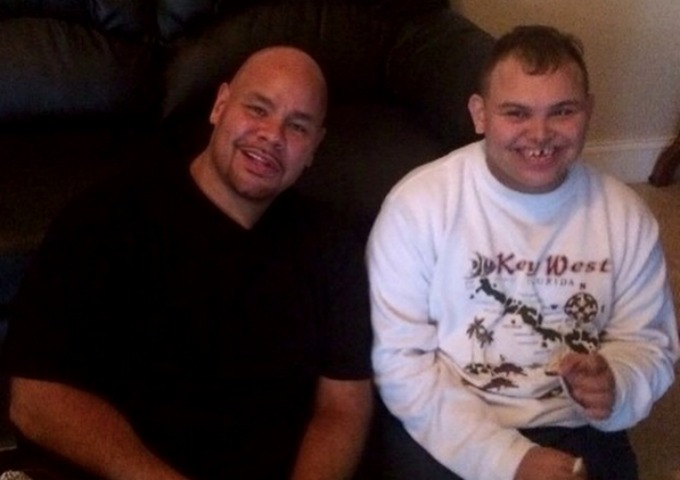Fat Joe with his special needs son