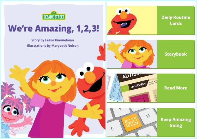 Sesame Street Autism Amazing Family Resource App