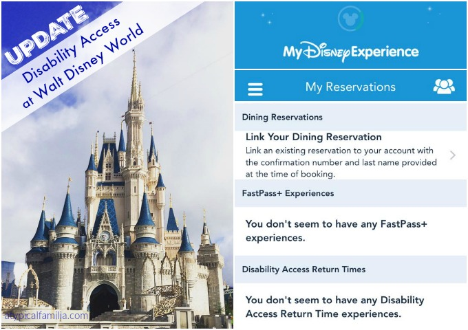 Using the Disability Access at Walt Disney World