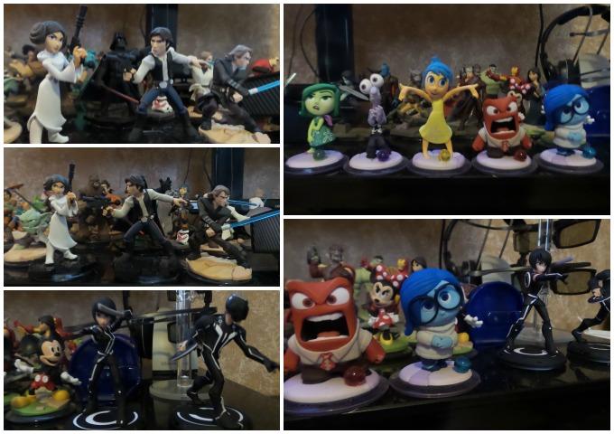 Disney Infinity 3.0 figures Atypical Familia
