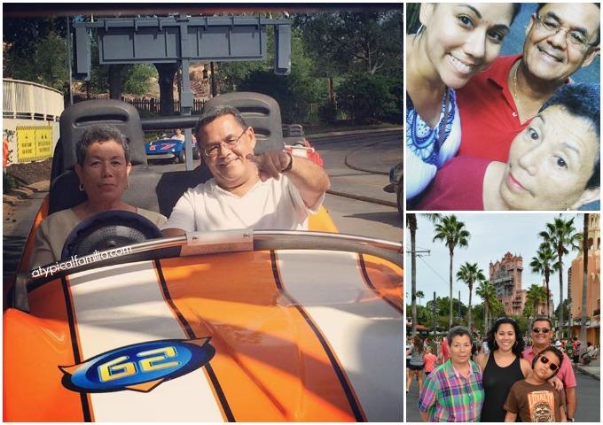 Walt Disney World with Grandparents - Atypical Familia - Lisa Quinones Fontanez