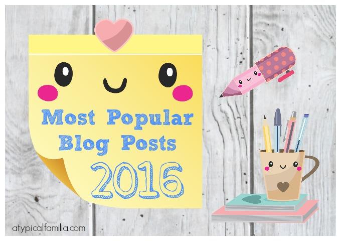 Most Popular Blog Posts of 2016