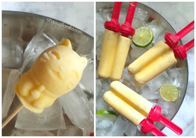 Mountain High Yoghurt Frozen Mango Peach FroYo Pops