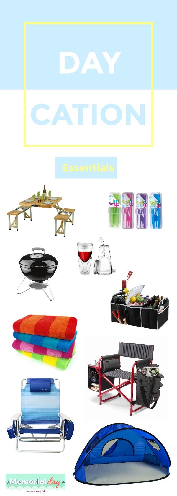 DayCation Essentials at WayFair