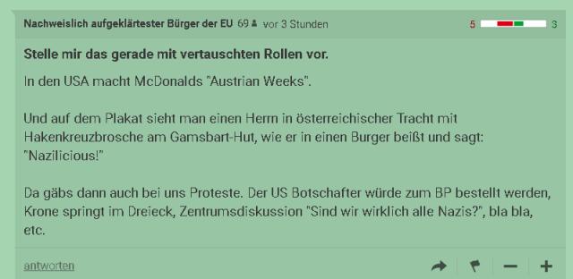 Immaginate la settimana austriaca, Stellen Sie sich eine österreichische Woche vor