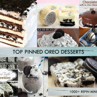 TOP PINNED OREO DESSERTS - MINIMUM OF 1000+ REPINS!