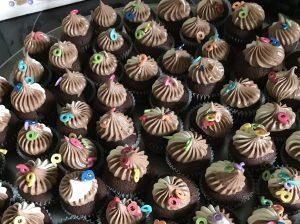 Mini cupcakes au chocolat