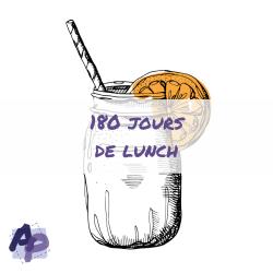 180 jours de lunch