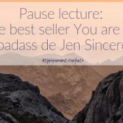 Pause lecture: Le best seller…