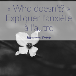 « Who doesn't? » –…