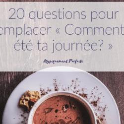 20 questions pour remplacer «…
