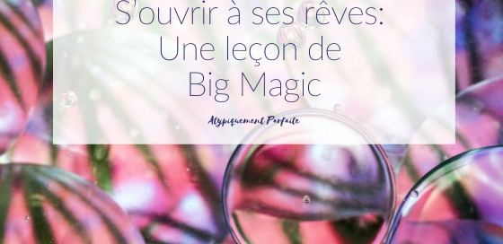 Rêves. Avec le flot des responsabilités, on oublie parfois tous les rêves qu'on avait plus jeune. Et si en reconnectant avec eux, on pouvait s'épanouir. Le livre Big Magic a été une lecture importante pour moi. Elle m'a permis de m'ouvrir à ce qui m'animait vraiment, ma créativité. #créativité #bigmagic #elizabethgilbert #commeparmagie #rêves #rêver #rêversavie